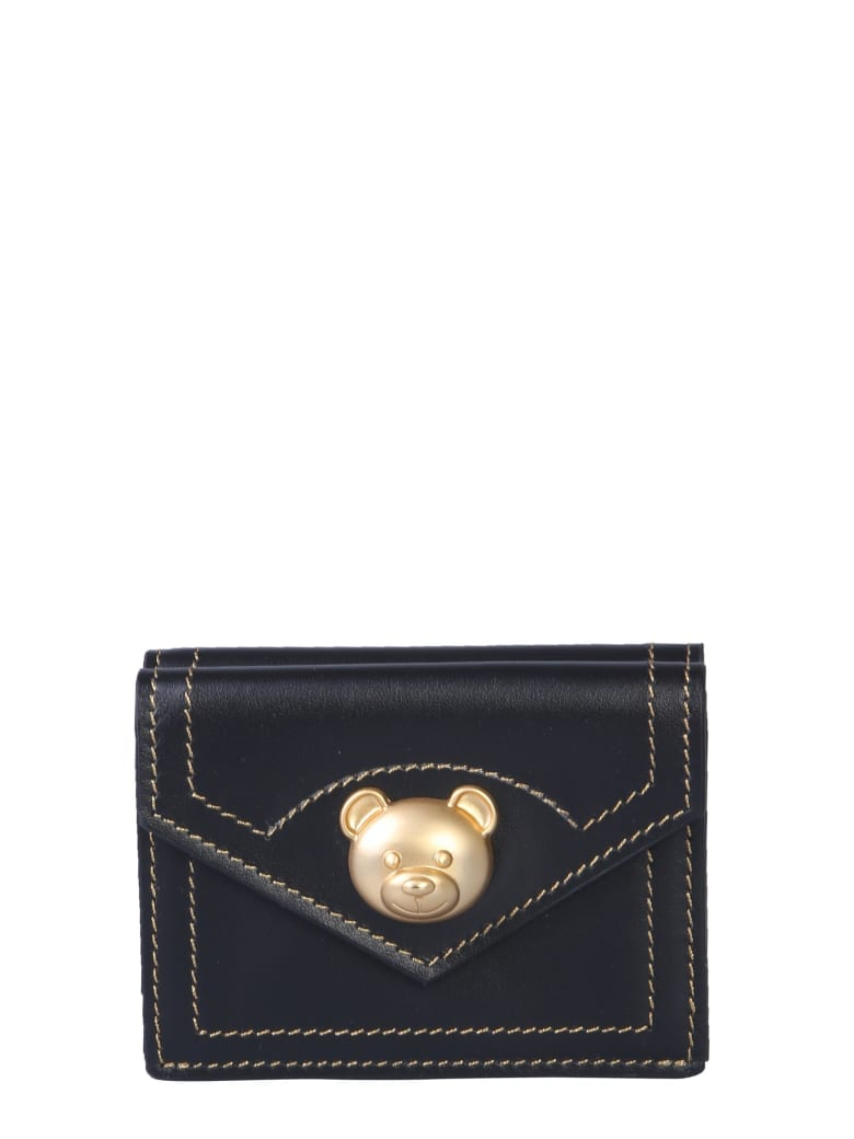 Moschino Teddy Bear Wallet - NERO