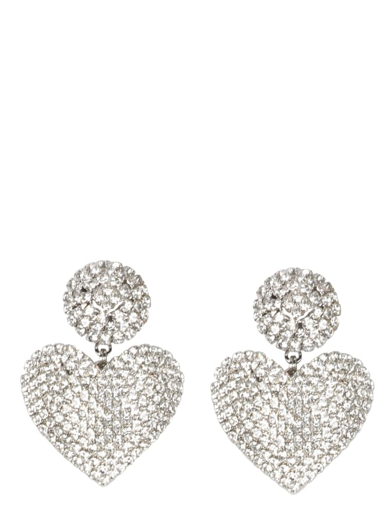 Alessandra Rich Earring - White