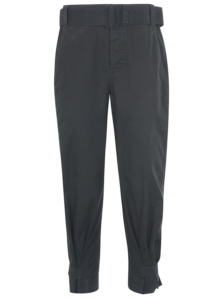 Proenza Schouler Belted Waist Trousers - Black