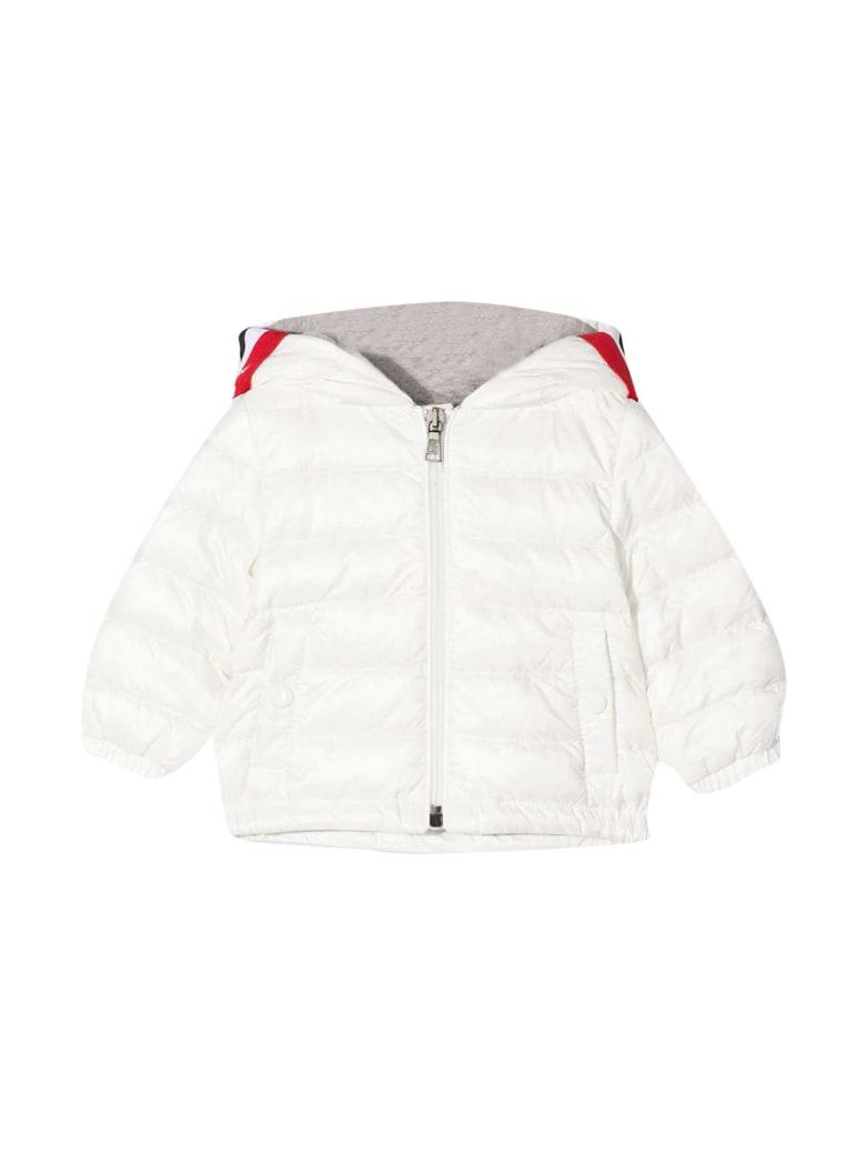 Moncler White Down Jacket - Bianco