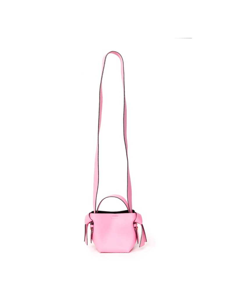Acne Studios Musubi Mini Leather Handbag - Pink