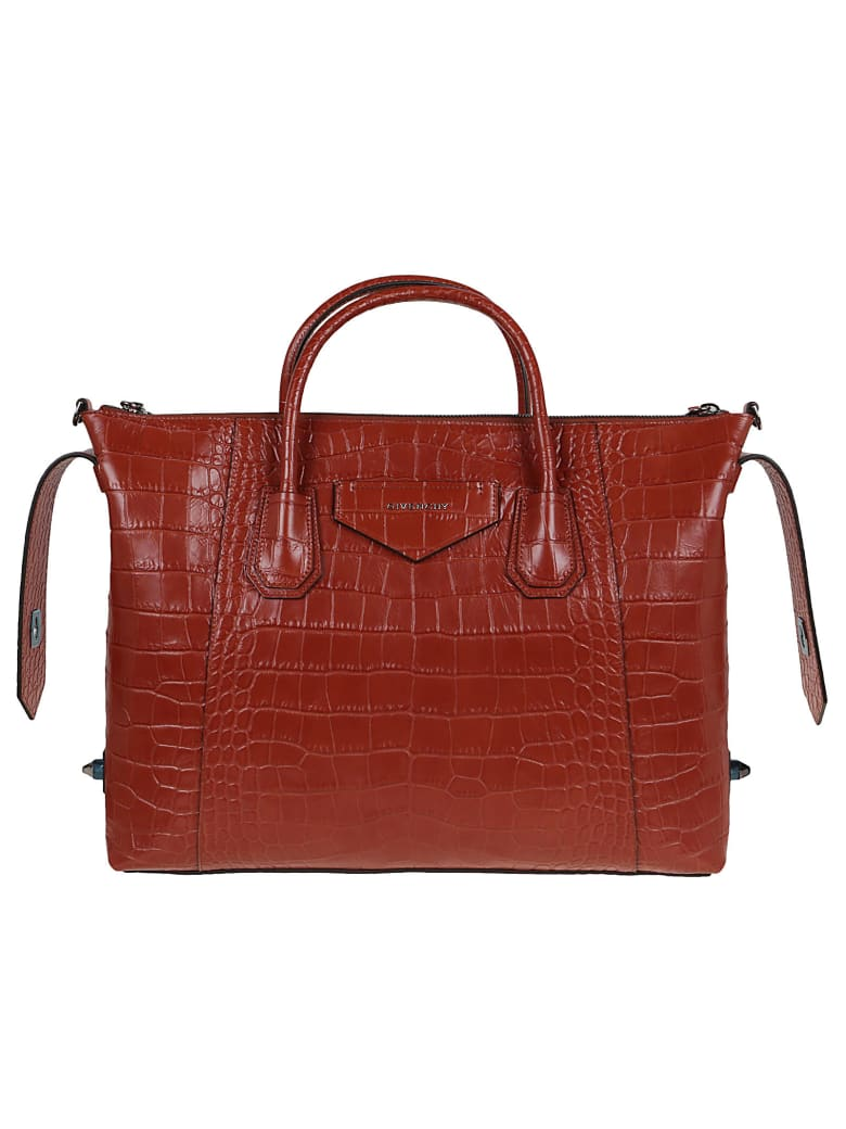 Givenchy Antigona Soft- Medium Bag - Paprika