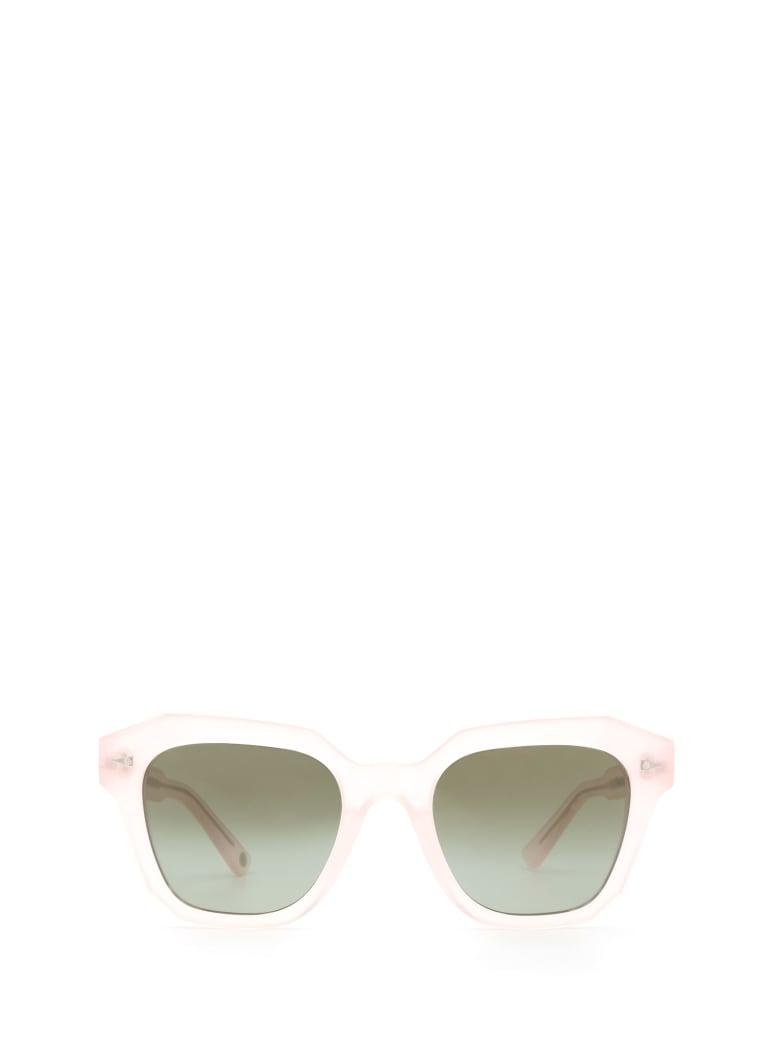 AHLEM Ahlem Pont Des Arts Blushed Pink Sunglasses - BLUSHED PINK