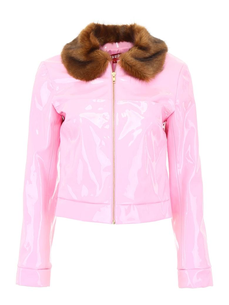 STAUD Dion Jacket - ROSE QUARTZ (Pink)
