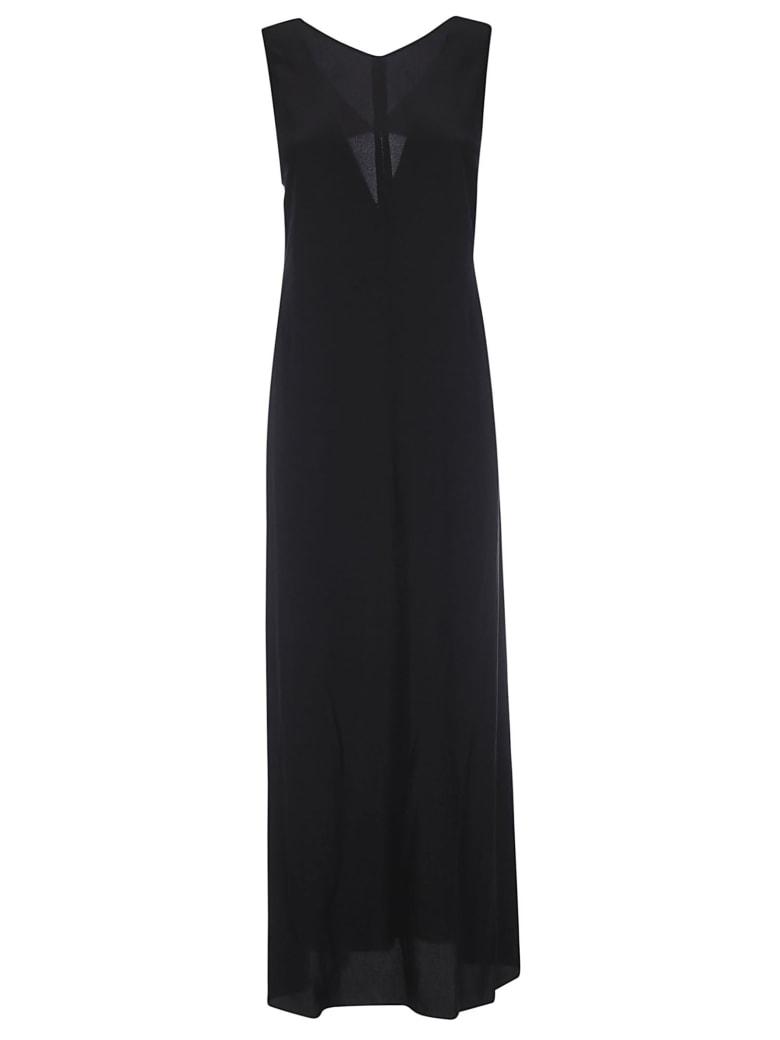 Aspesi Structured Flared Dress - Black