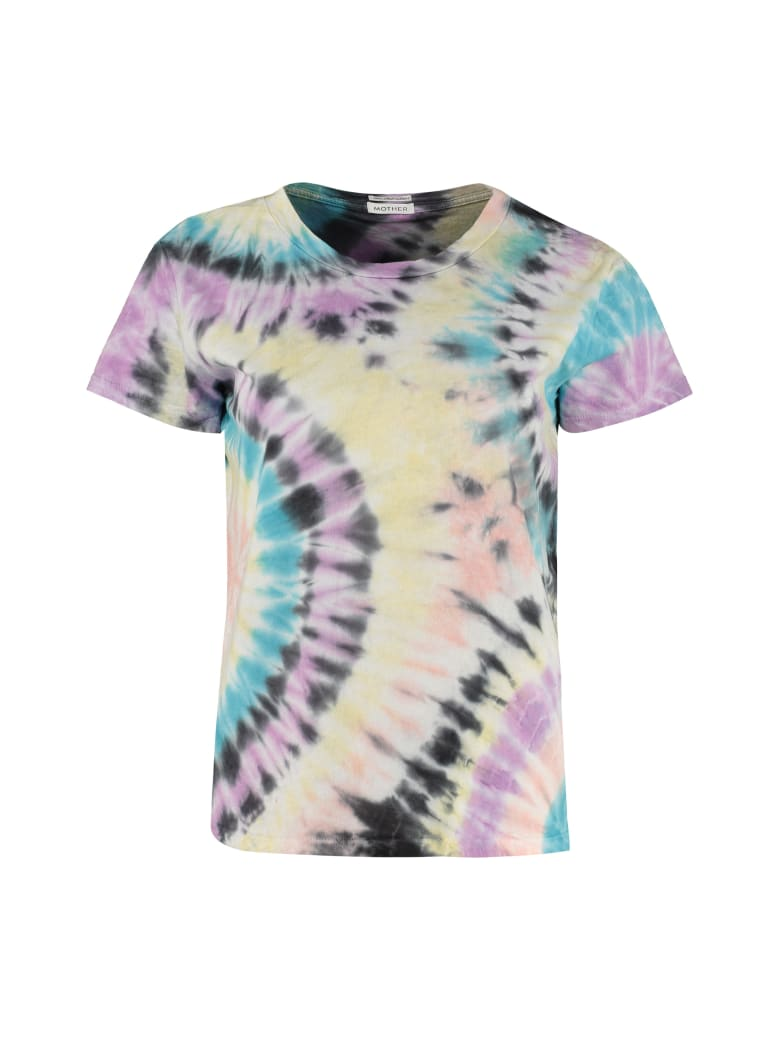 Mother The Boxy Goodie Goodie Crew-neck T-shirt - Multicolor