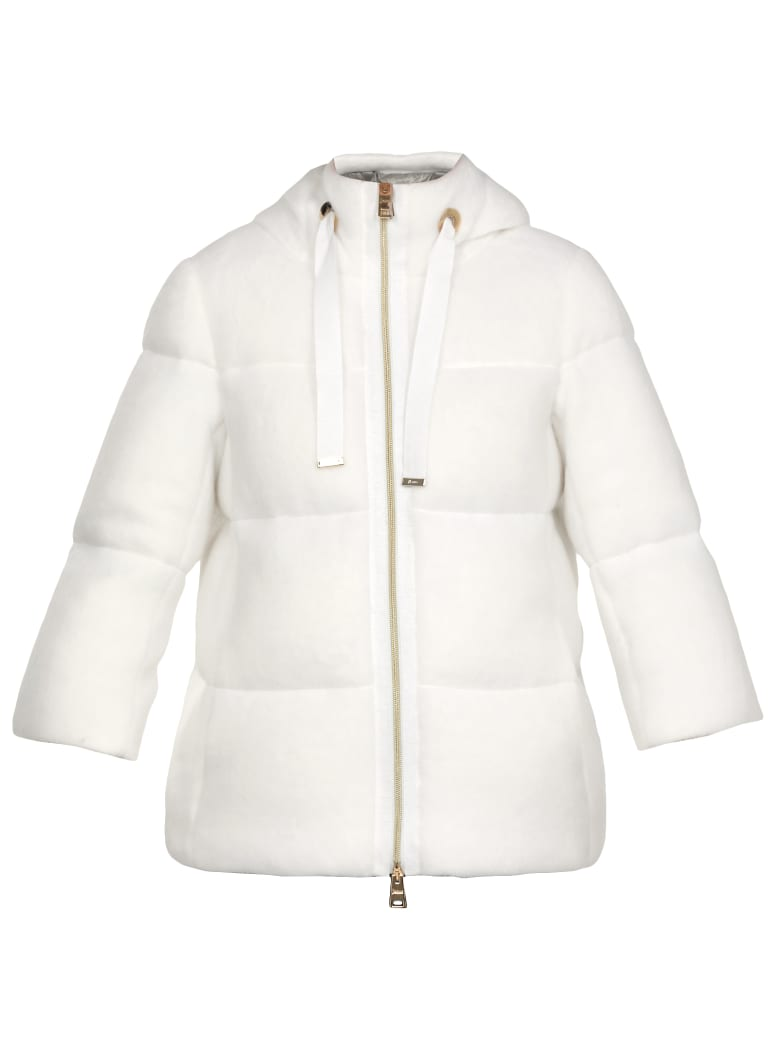 Herno Quilted Jacket - WHITE