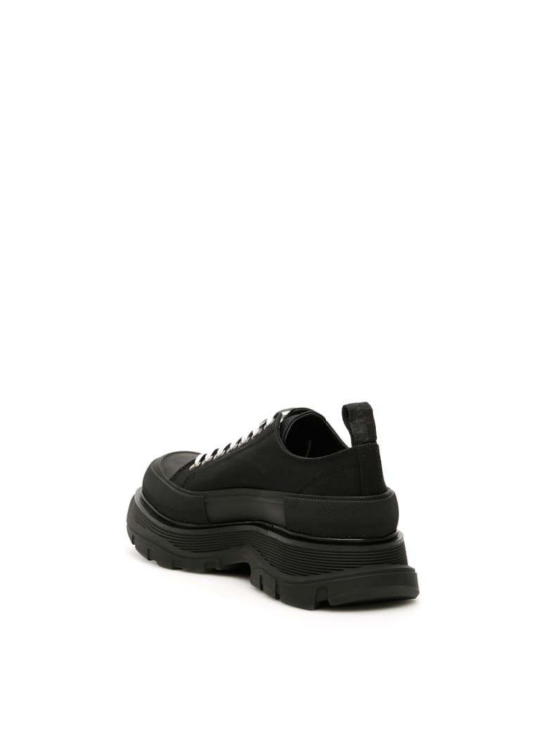 Alexander McQueen Tread Sleek Lace-ups - BLACK (Black)