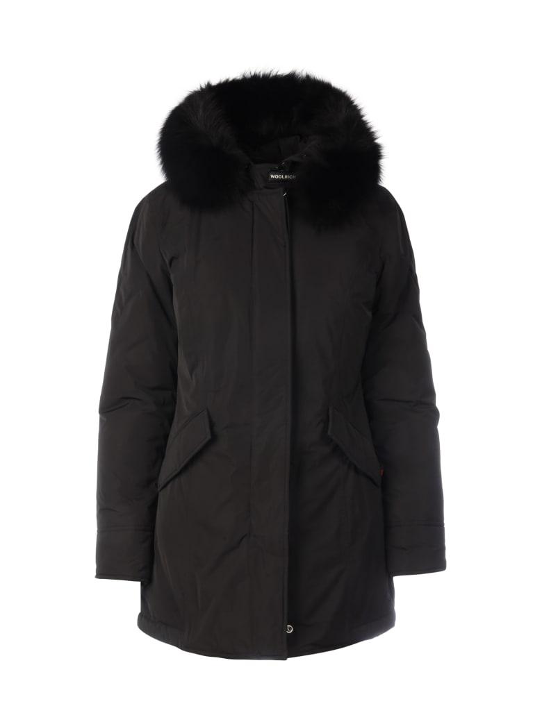 Woolrich Luxury Arctic Parka Fox - Black