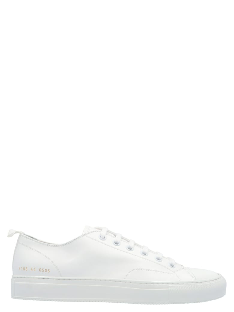 Common Projects 'tournament' Shoes - White