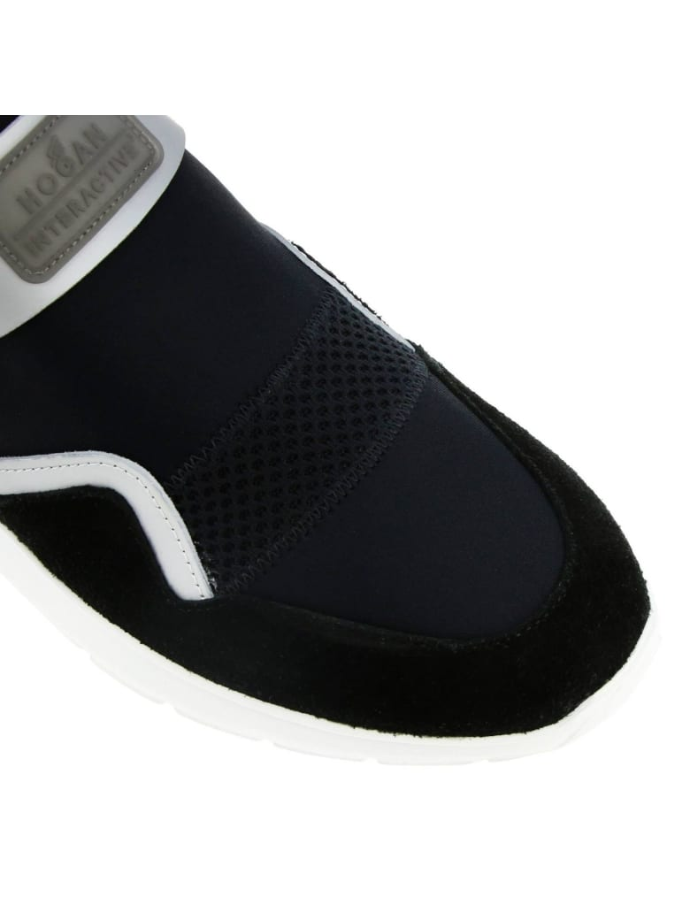 Best price on the market at italist   Hogan Hogan Sneakers 371 Interactive3 Sneakers Hogan Slip On In Neoprene Suede And Reflective Fabric