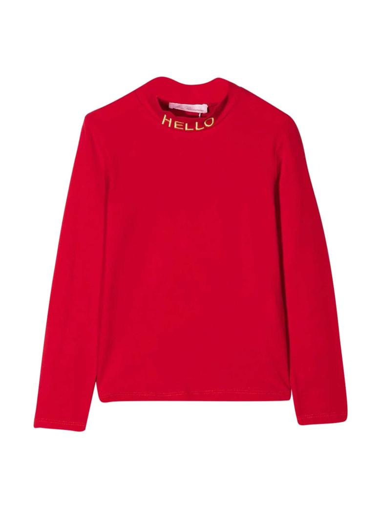 Miss Blumarine Red Sweater - Rosso
