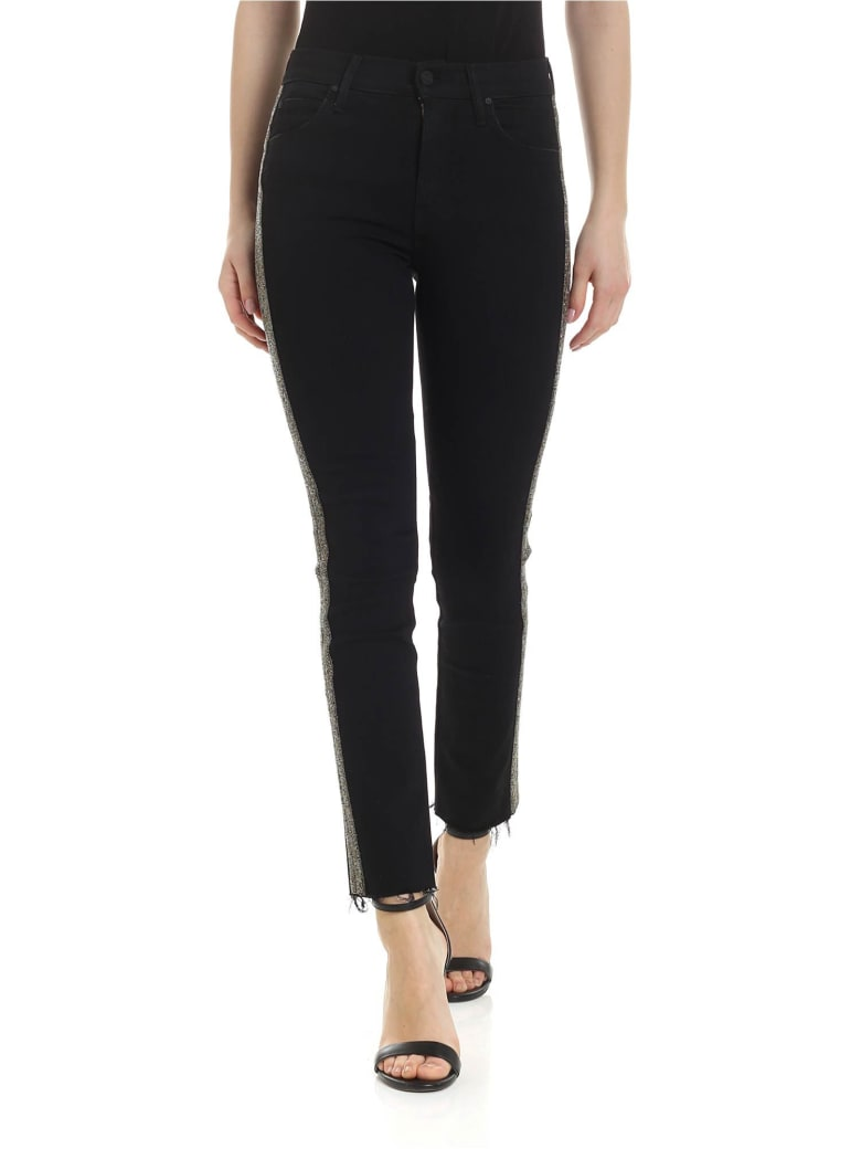 Mother - The Rascal Ankle Fray Jeans - Black