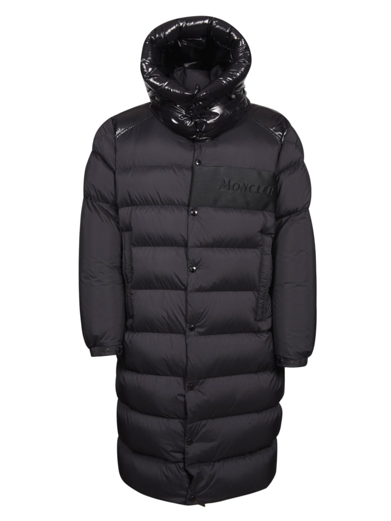 Moncler Classic Hooded Padded Jacket - Black