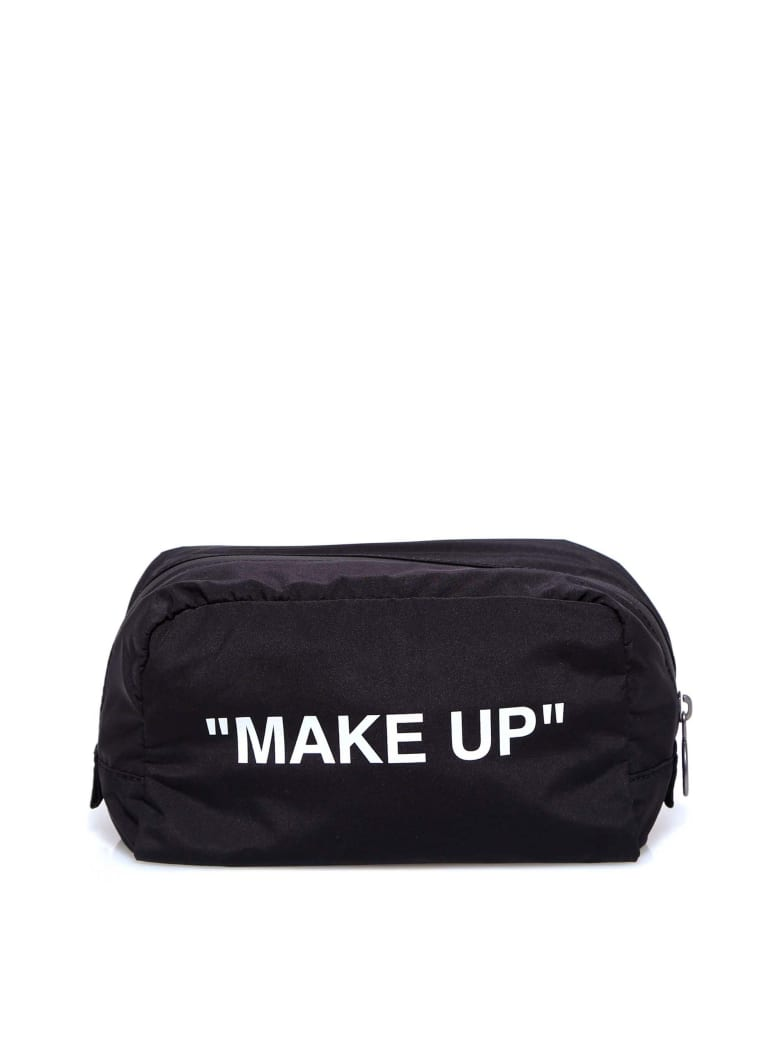 Off-White Make Up Puch - Black