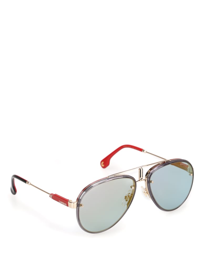 Carrera CARRERA GLORY Sunglasses - Y Gold Blue
