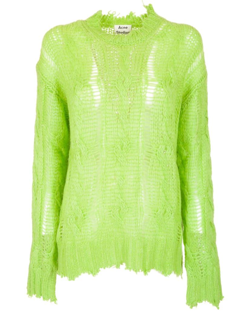 Acne Studios Kelena Cable Sweater