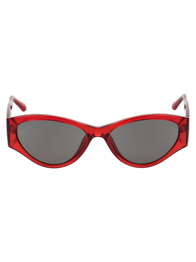 Calvin Klein Jeans Sunglasses - Crystal Red