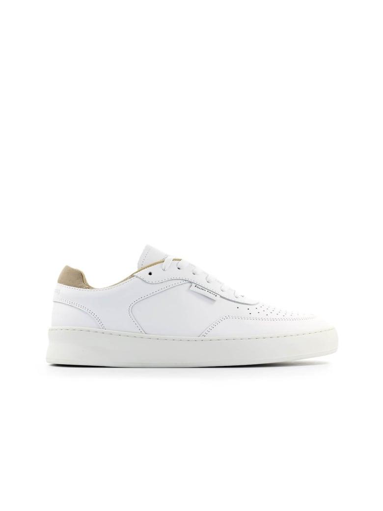 Filling Pieces White Plain Phase Sneaker - Bianco (White)