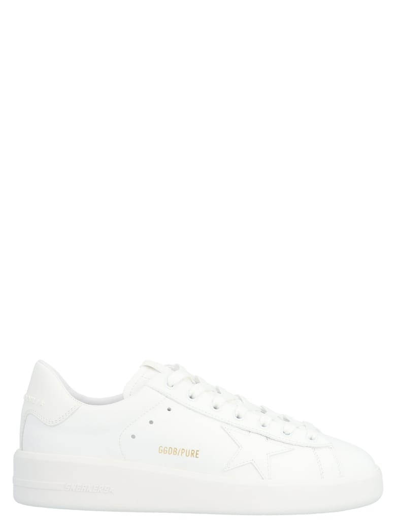Golden Goose 'pure Stain' Shoes - White