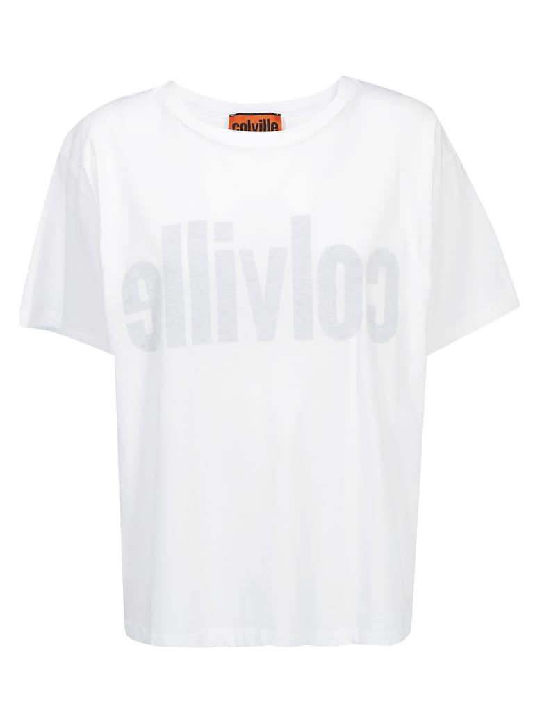 Colville T-shirt - White/black