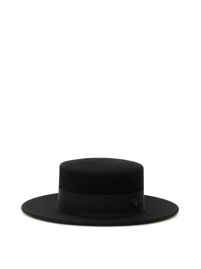 Maison Michel Kiki Wool Felt Hat - BLACK (Black)