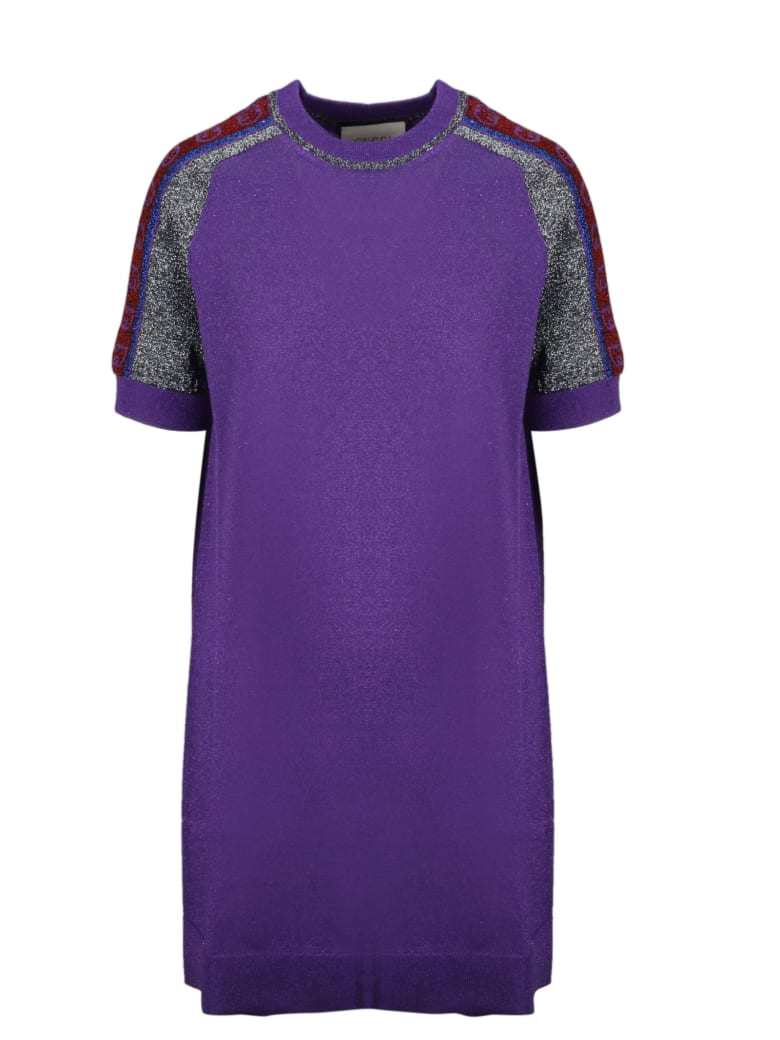 Gucci Dress - Pink & Purple