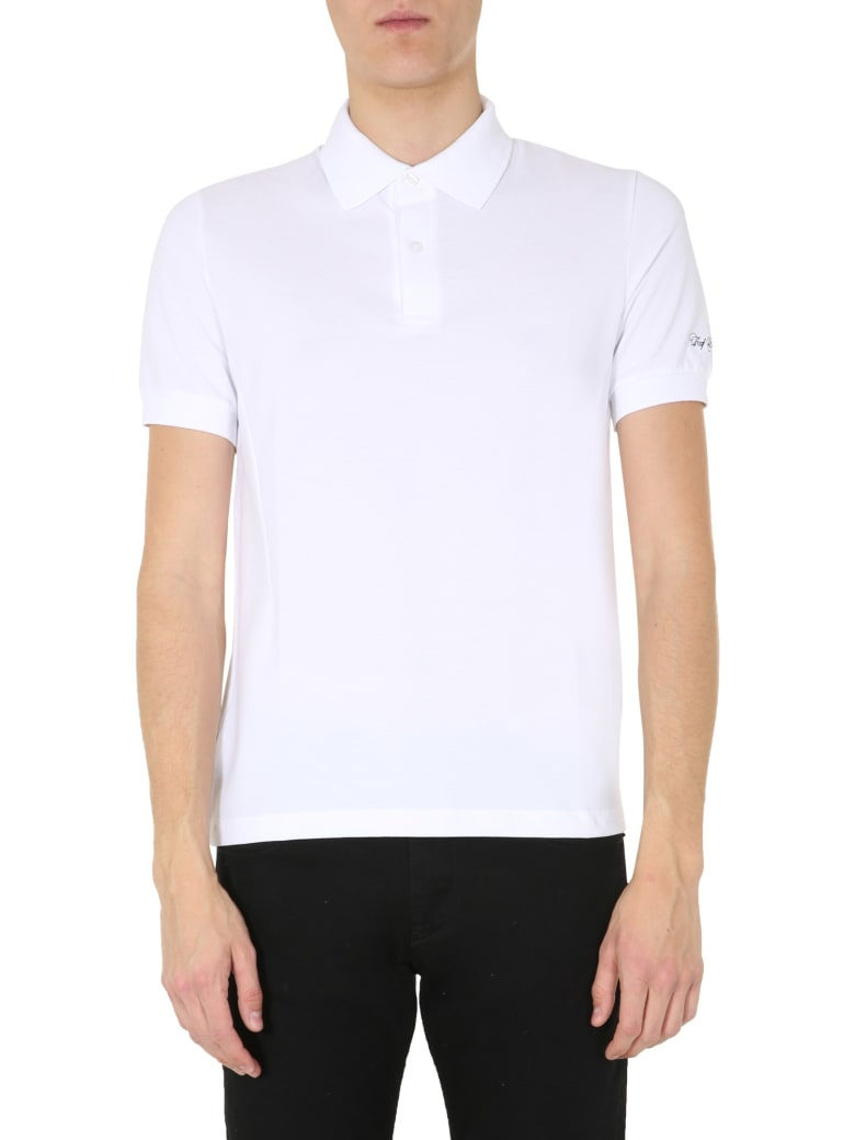 Fred Perry by Raf Simons Slim Fit Polo - BIANCO