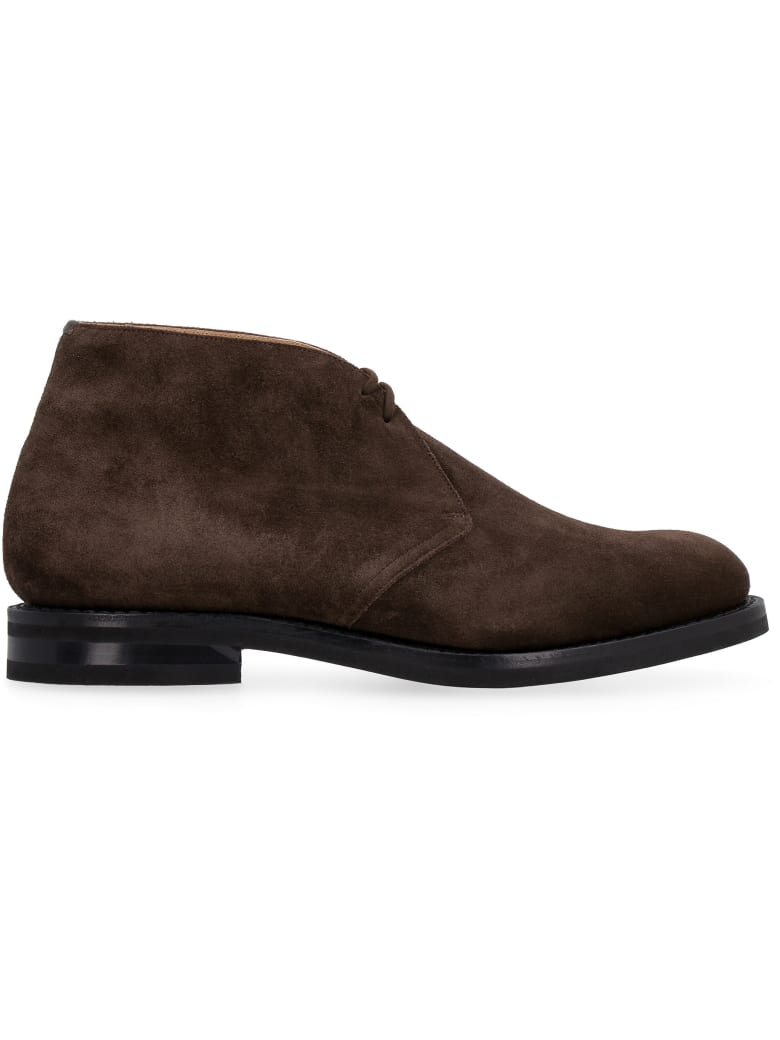 Church's Ryder 3 Lw Suede Desert-boots - brown