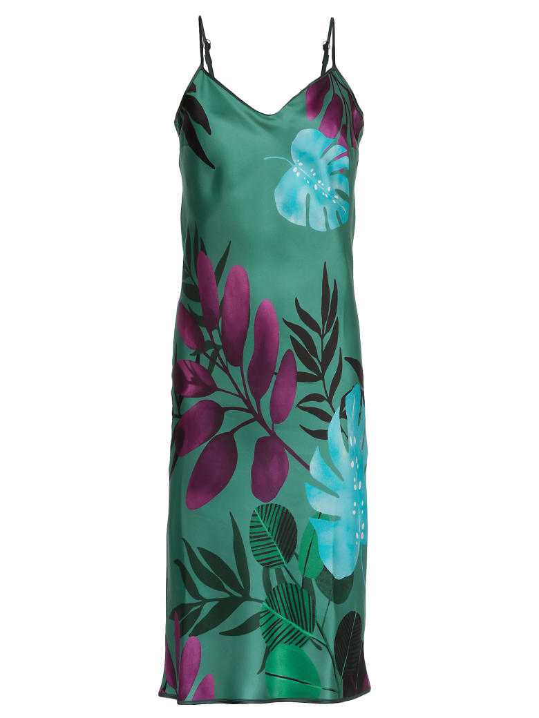 For Restless Sleepers Dress With Print - f.do verde