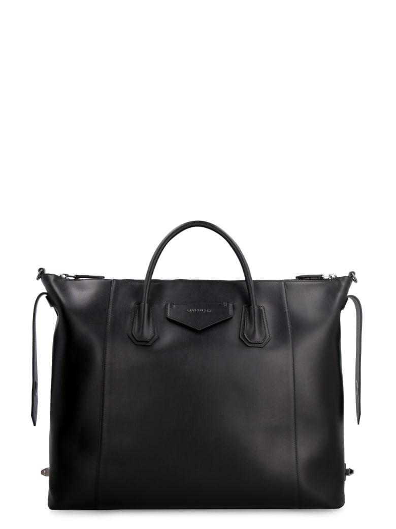 Givenchy Antigona Soft Leather Bag - black