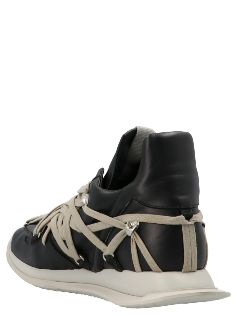 Rick Owens 'megalaced Runner' Shoes - Nero