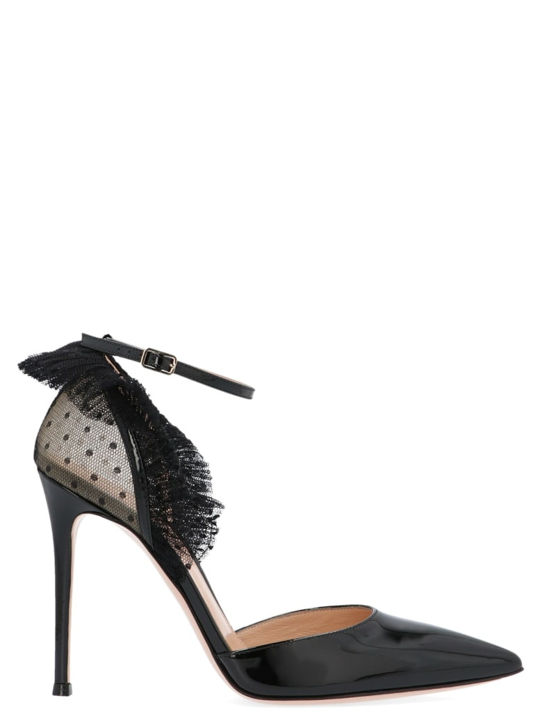 Gianvito Rossi 'beatrice' Shoes - Black
