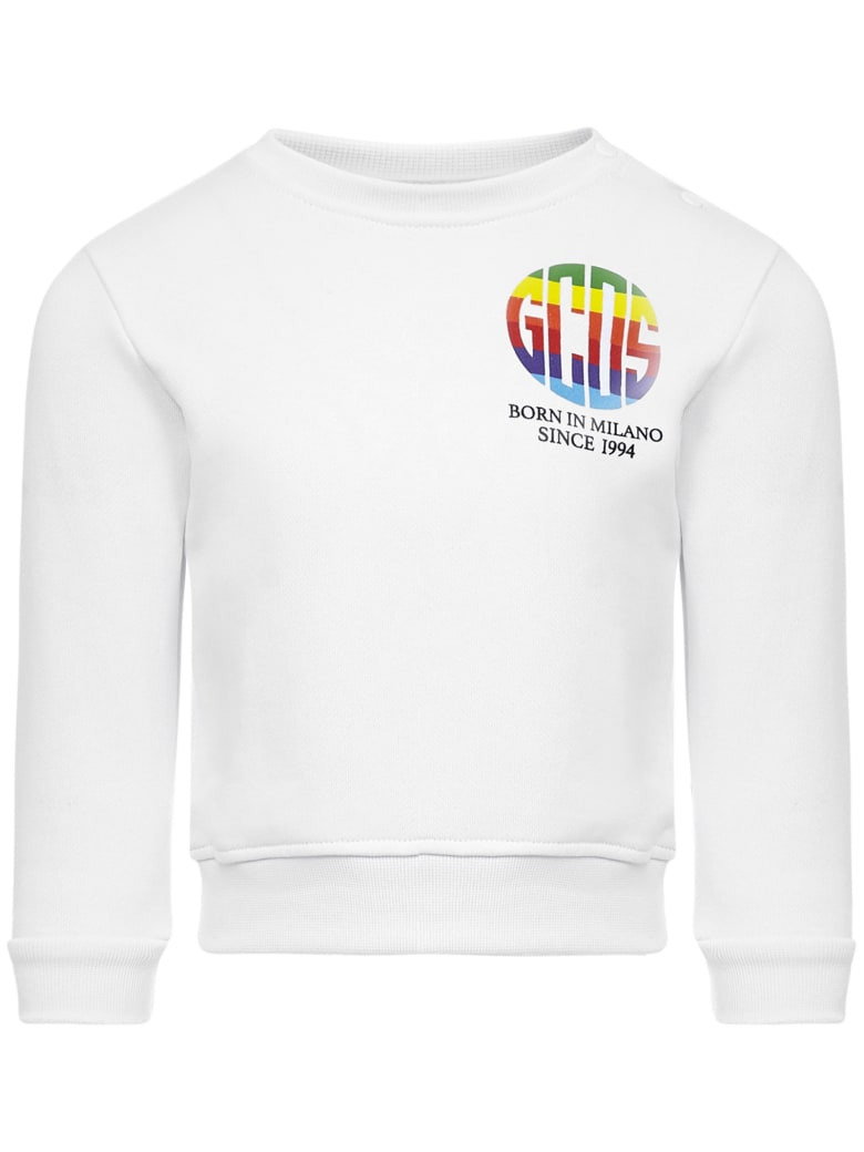 GCDS Mini Gcds Kids Sweatshirt - White