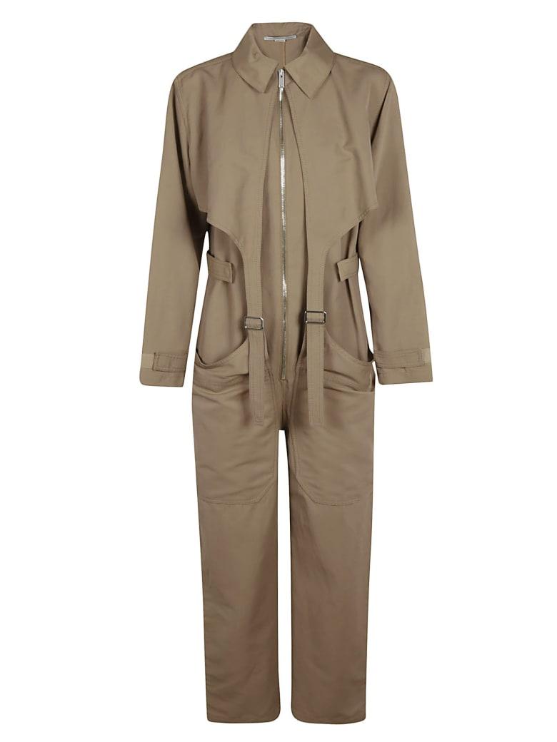Stella McCartney Front Zipped Jumpsuit - pink