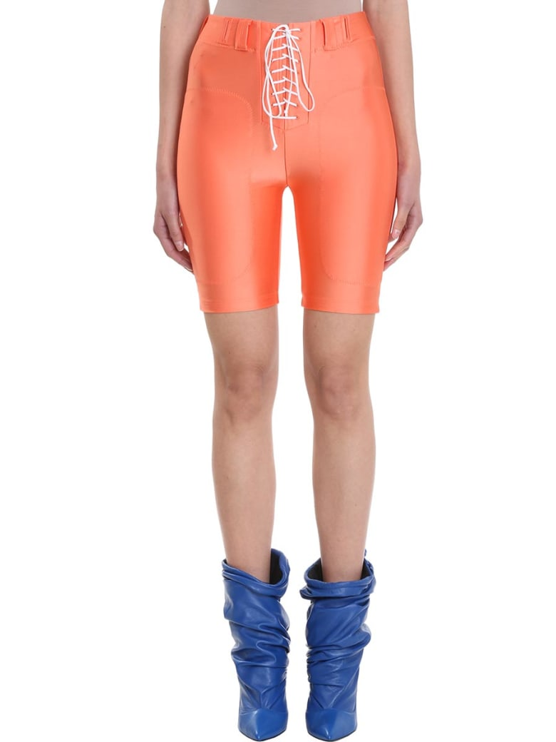 Ben Taverniti Unravel Project Football Cycling Shorts - orange