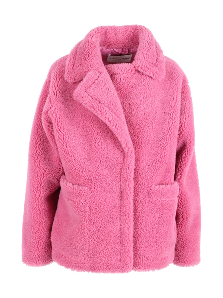 STAND STUDIO 'marina' Polyester Jacket - Pink