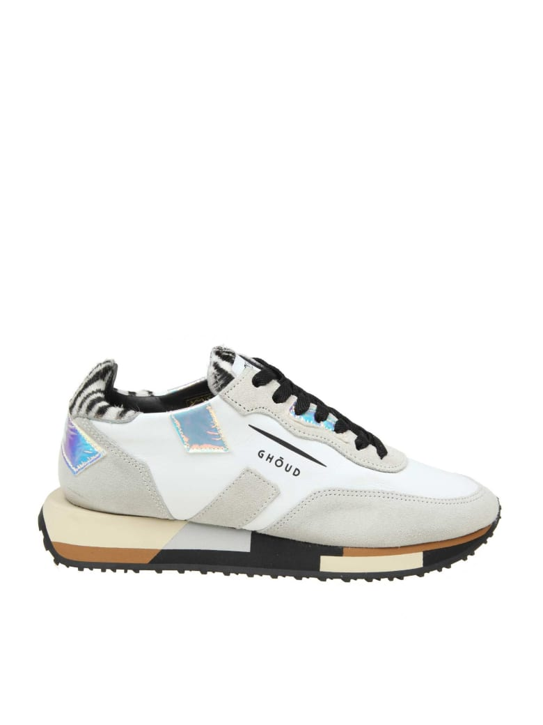 GHOUD Sneakers Rush In Leather And Suede - WHITE