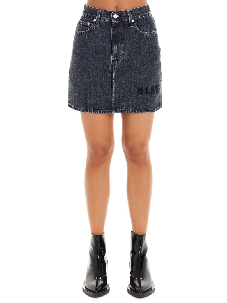 Helmut Lang 'femme' Skirt - Grey