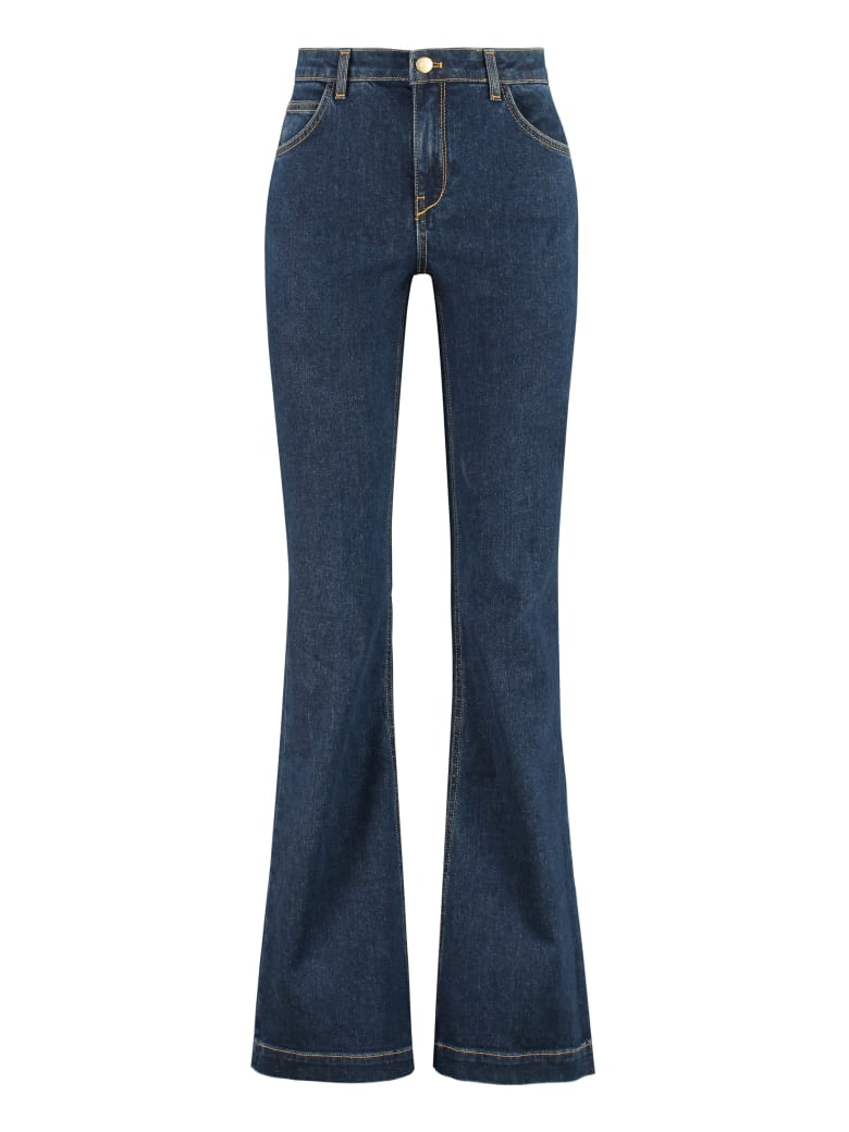 L'Autre Chose High-rise Bootcut Jeans - Denim