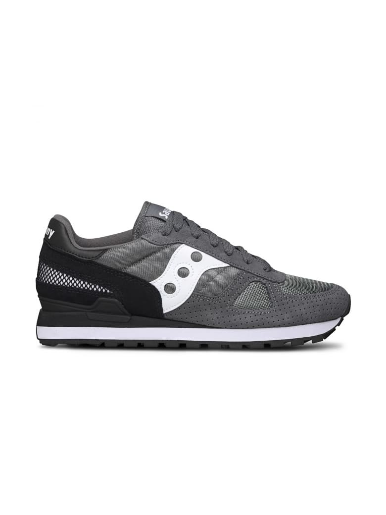 watch adc37 10bd2 Best price on the market at italist | Saucony Saucony Saucony Originals  Shadow O' Gray/black
