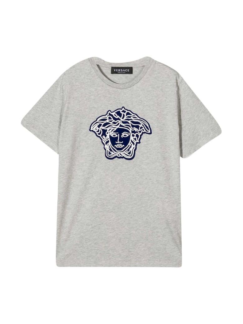 Young Versace Gray T-shirt - Grigio