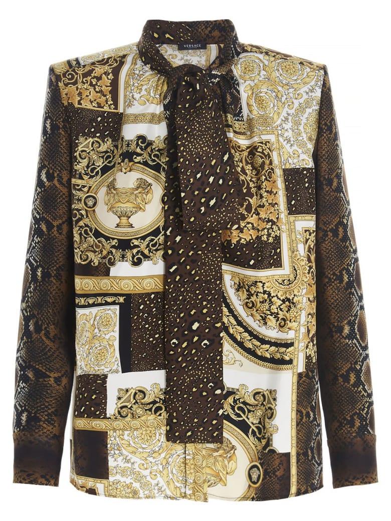 Versace 'barocco' Shirt - Multicolor