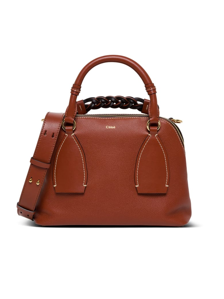 Chloé Daria Tote - Cement Brown