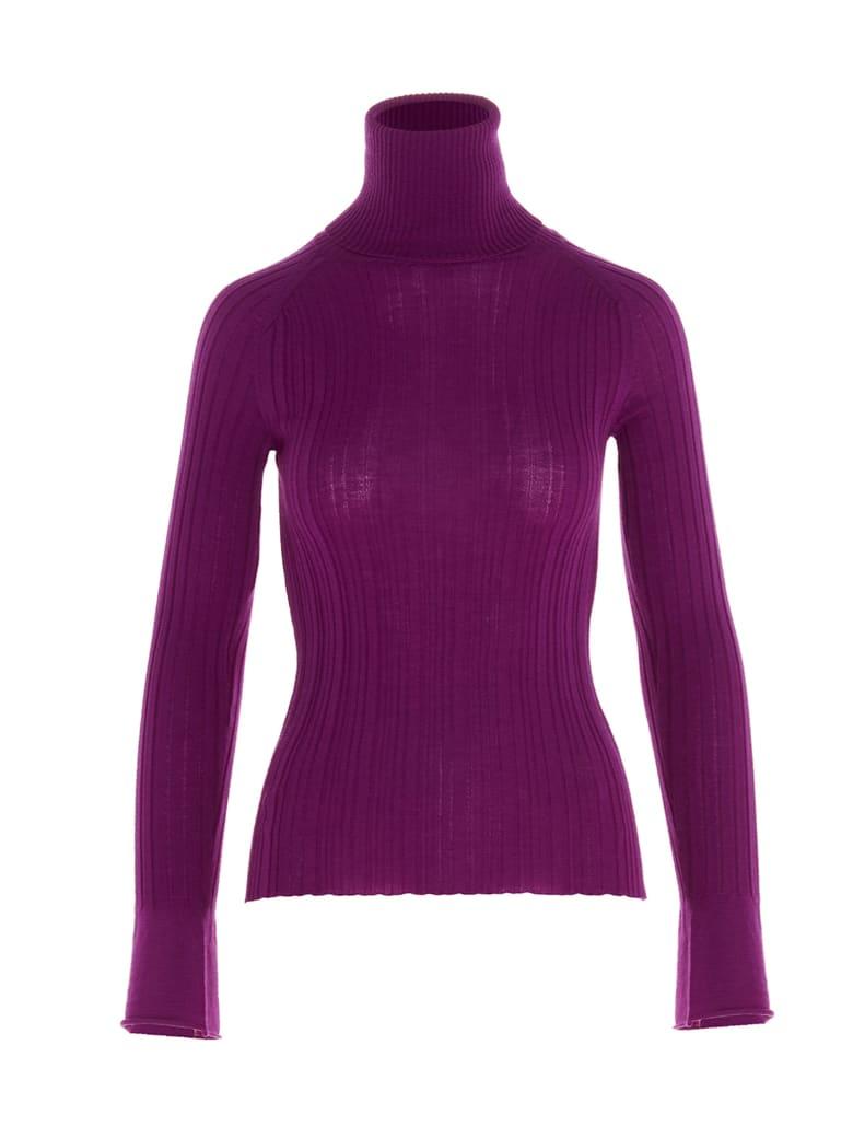 (nude) Sweater - Purple