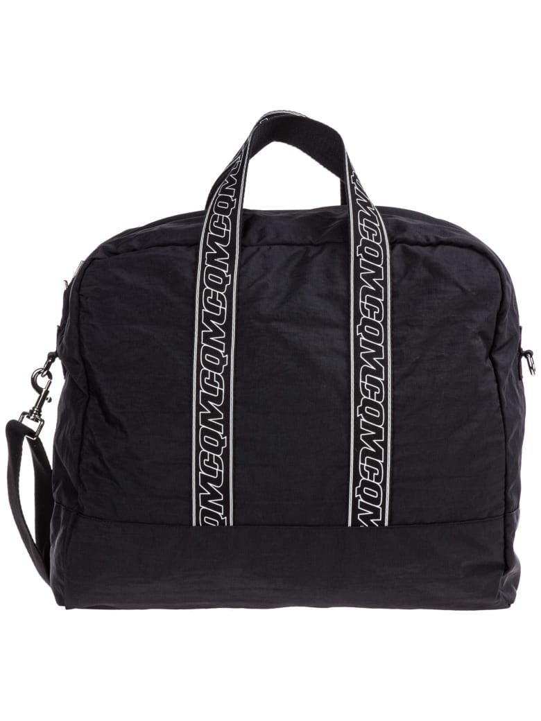 Best price on the market at italist | McQ Alexander McQueen McQ Alexander McQueen Travel Duffle Weekend Shoulder Bag Nylon Hyper
