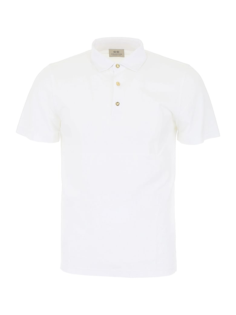 CC Collection Corneliani Jersey Polo Shirt - BIANCO OTTICO (White)