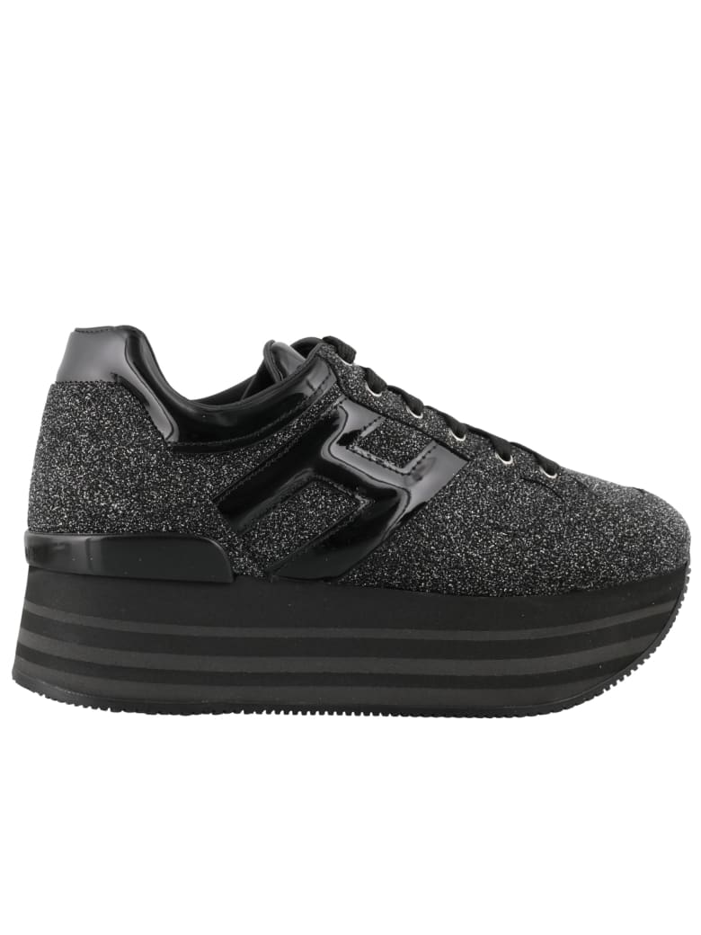 Hogan Maxi H222 Sneakers - Black