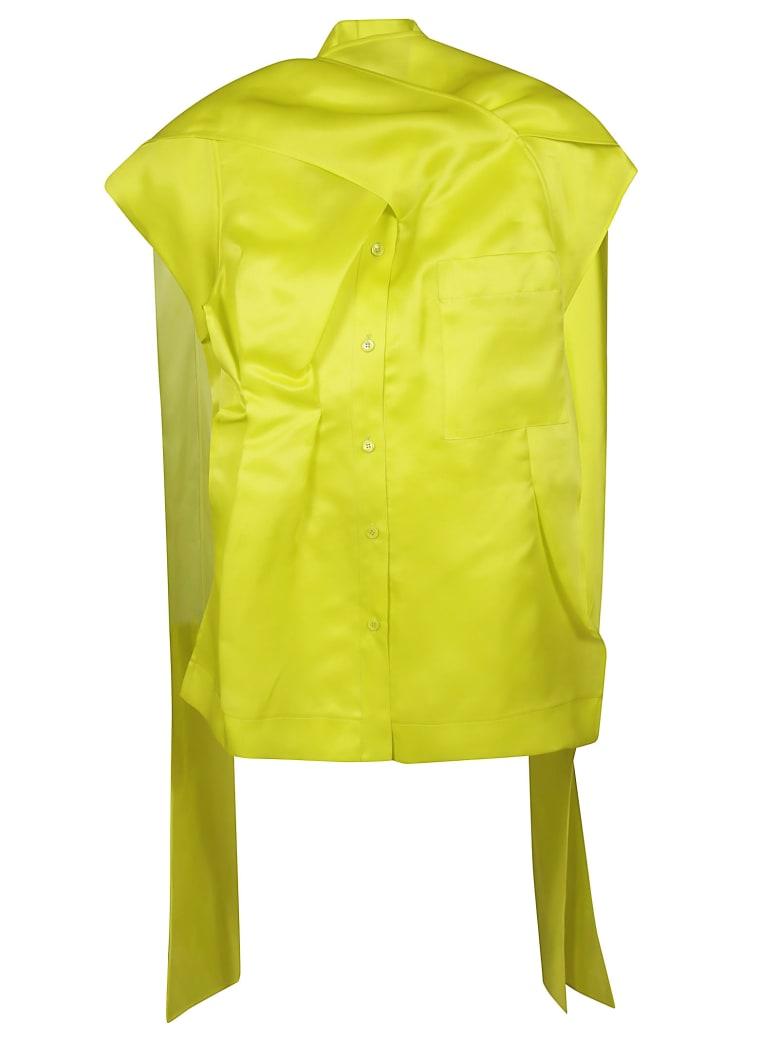 Nina Ricci Chest Pocket Top - Verde