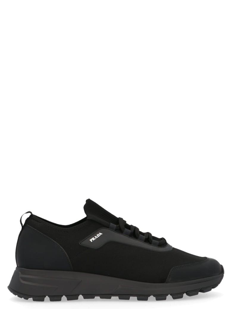 Prada Linea Rossa 'prax' Shoes - Black